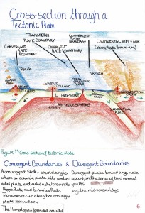 7. Cross-Section Tectonic Plate
